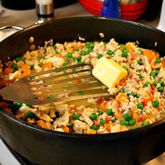Chicken and Pancetta risotto