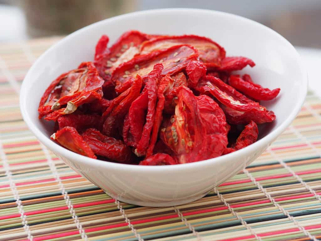 Sun-dried Roma tomatoes