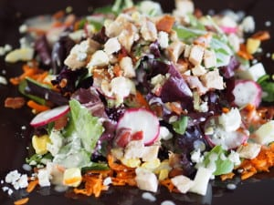 Chopped Cobb Salad with Apple Cider Vinaigrette