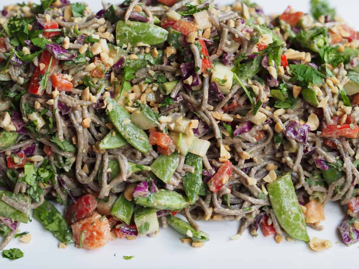 how to cook soba noodles for salad