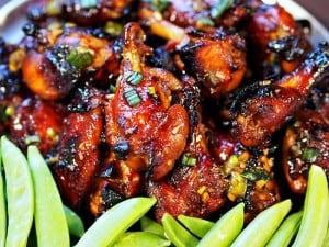 Honey Asian Chicken Wings