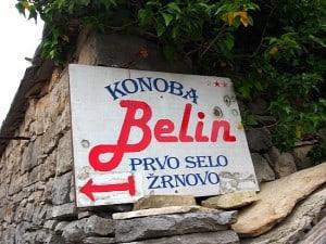Korcula, Konoba Belin