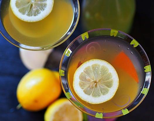 Serious adult lemonade, Italian Style