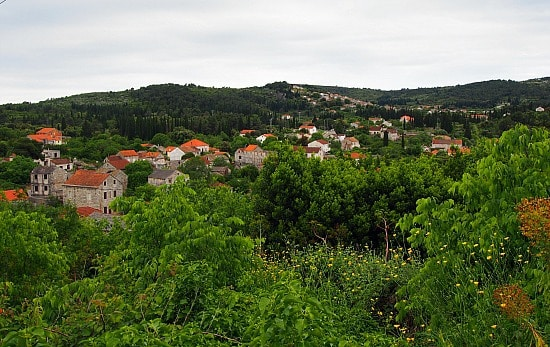 Pretty little village of Zrnovo.