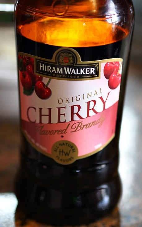 "The perfect thing to make the cherries good and ""drunken""!"