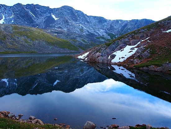 Summit Lake takes your breath away! It's so amazingly beautiful. So spectacular at dusk!