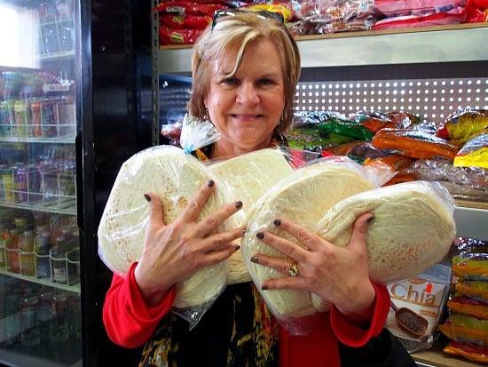 My friend Lea Ann got her stash for the freezer!