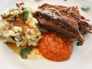 Beef Brisket with Creole horseradish sauce