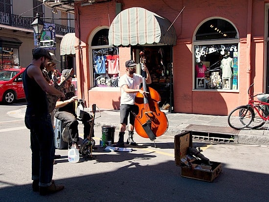 And then there was more music on the streets of the French Quarter. I loved that!