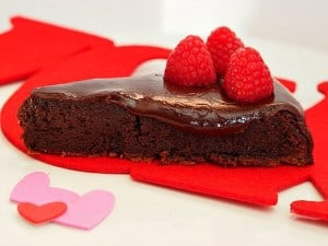 Flourless Chocolate Cake with Chocolate Liquor Ganache
