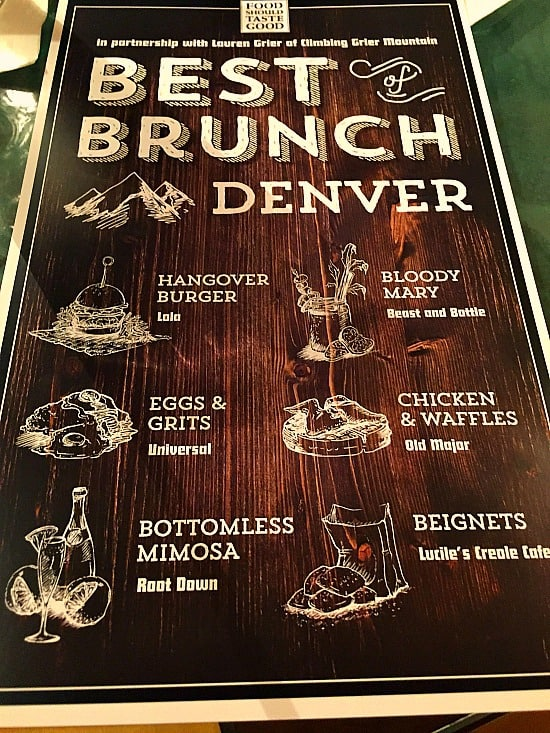 Best brunch in Denver Guide