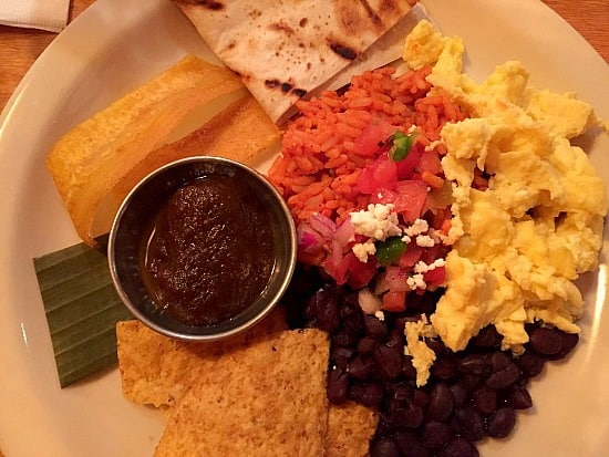 Yucatan Breakfast at Lola
