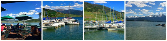 What a beautiful day hanging out at the Tiki Bar, Lake Dillon, CO!