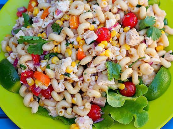 Tequila Lime Pasta Salad