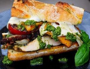 Pesto Chicken & Vege Sandwich
