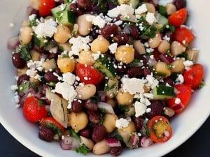 Balela (Mediterranean Bean Salad)