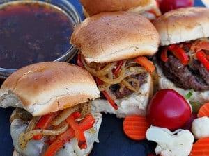 Italian Beef Hamburgers