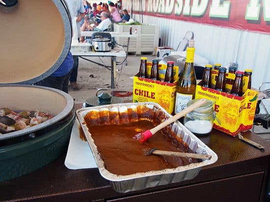 Green Chile BBQ Sauce