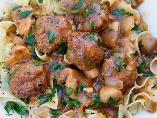 Creole Salisbury Steak Meatballs