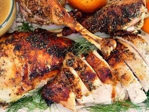 Roasted French Turkey