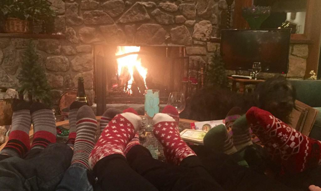Cozy Cabin Socks