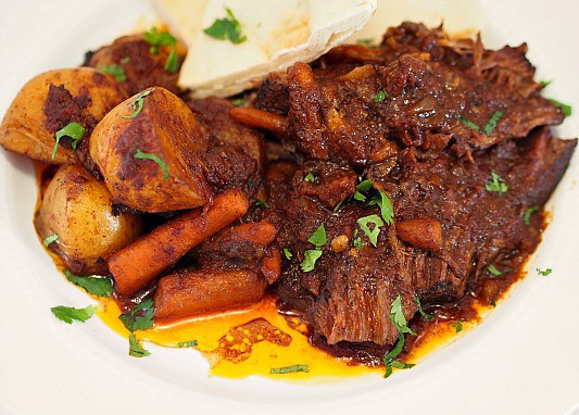 Moroccan Spiced Pot Roast
