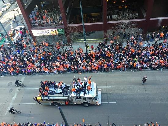 Bronco's Parade
