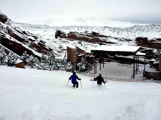 Redrocks ski