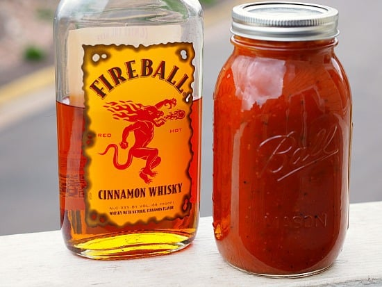 Fireball Whiskey Sauce