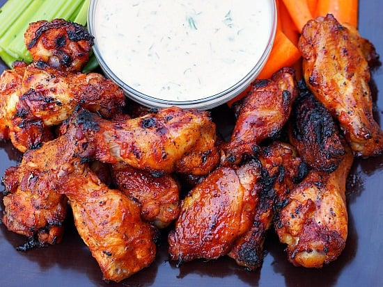 Cholula Honey Barbecued Wings