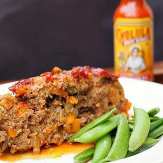 Green Chili Cholula Meatloaf