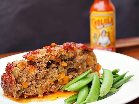 Green Chili Cholula Meatloaf