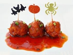 Hawaiian Chicken Meatballs