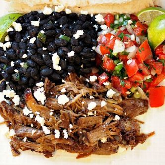 Carnitas and Black Beans