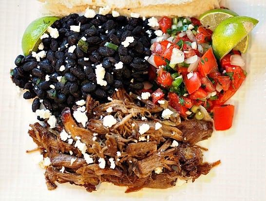 Carnitas and Black Beans