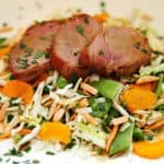 Cantonese Grilled Pork Asian Salad