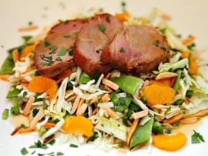 Cantonese Grilled Pork Asian Salad