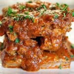 Marinara Braised Pork Ribs