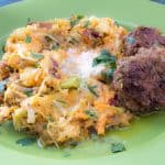 Colcannon with Irish Sausage