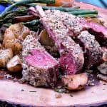 Honey Herbed Rack of Lamb