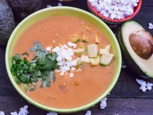 Locro de Papa (Ecuadorian Potato Cheese Soup)