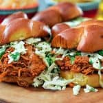 Pulled Nashville Hot Chicken Sliders