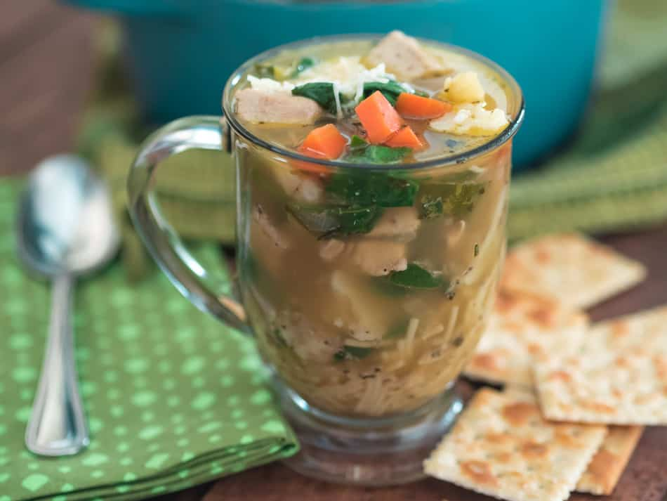Not Your Average Chicken Soup