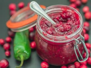 Jazzed Up Homemade Cranberry Sauce