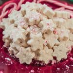 White Chocolate Peppermint Fudge, peppermint, fudge, white chocolate, marshmallow,