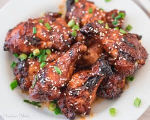 Garlic Sticky Wings