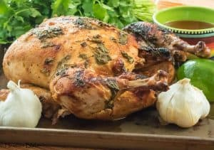 Cilantro Lime Roasted Chicken