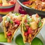 Pork Fajita Tacos