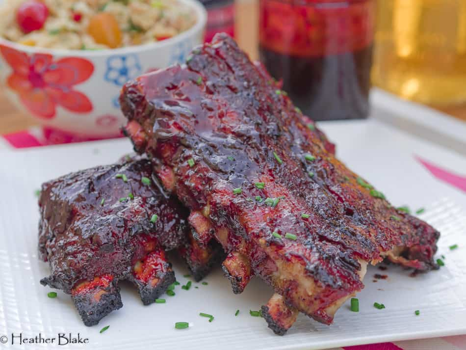 Sticky Chinese Barbecue Ribs