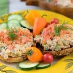 Smoked Salmon Vegetable Spread